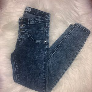 Jordache Girls High Waisted Skinny Jeans | 7